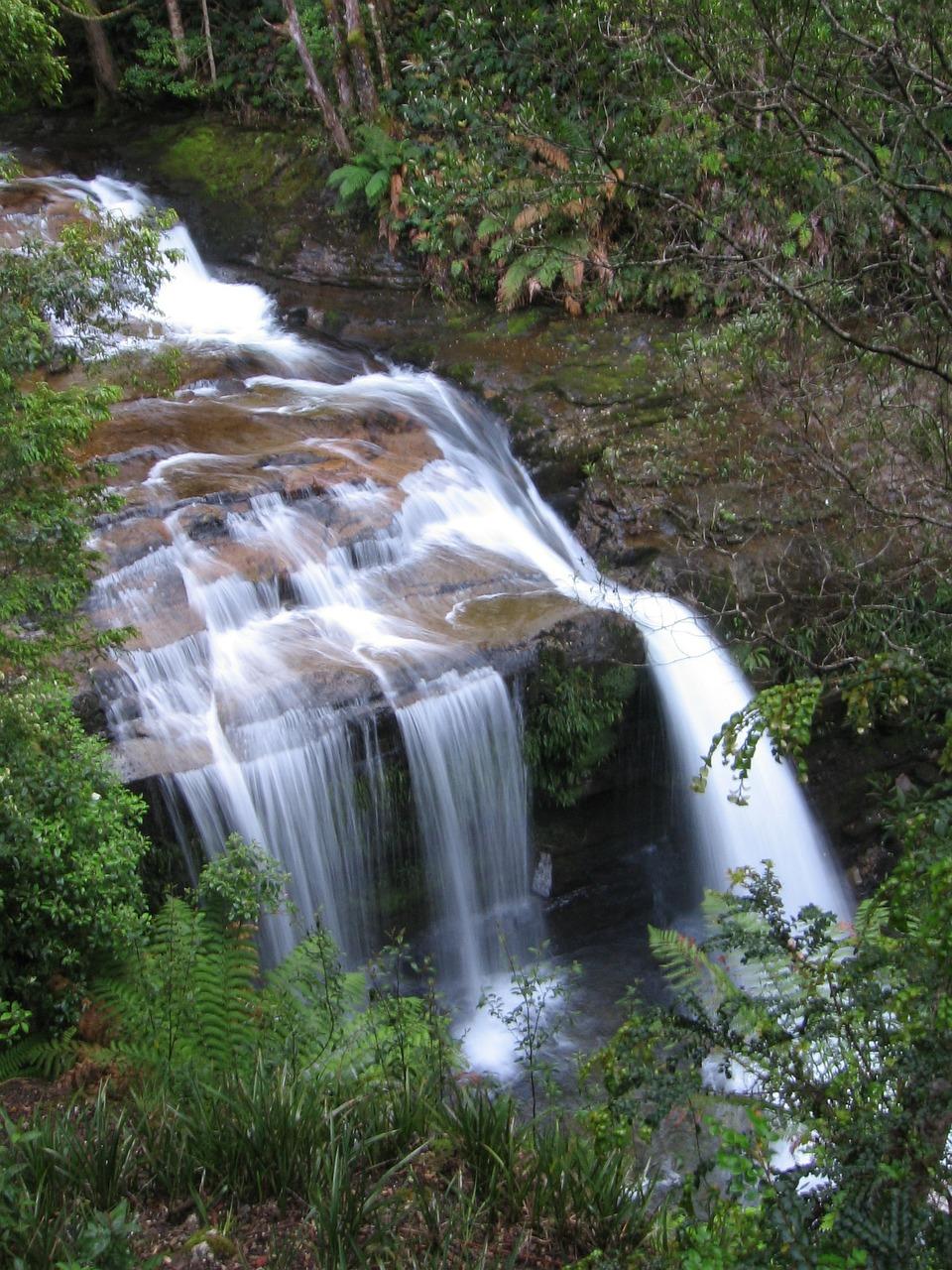 tasmania, waterfall, australia